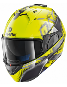 CASCO SHARK EVO-ONE 2 KEENSER AMARILLO NEGRO
