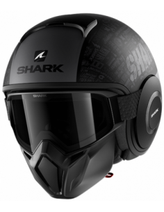 CASCO SHARK STREET DRAK TRIBUTE NEGRO