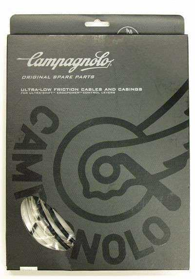JUEGO CABLES+FUNDA FRENO CAMBIO CAMPAGNOLO