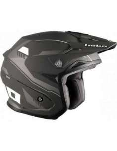 CASCO HEBO ZONE 5 PURSUIT NEGRO