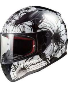 CASCO LS2 FF353 POPPIES NEGRO