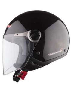 CASCO LS2 OF560 ROCKET II NEGRO METAL