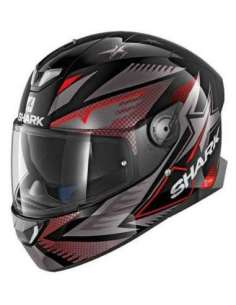 CASCO SHARK SKWAL 2 DRAGHAL NEGRO
