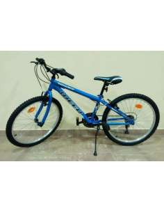 "BICI INFANTIL MTB WEED STRONG 24"" AZUL MATE"