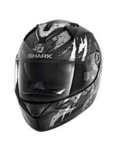 CASCO SHARK RIDILL TREEZY NEGRO BLANCO