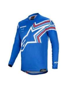CAMISETA ALPINESTARS RACER BRAAP JUNIOR AZUL S