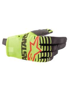 GUANTES ALPINESTARS RADAR JUNIOR AMARILLO 3XS