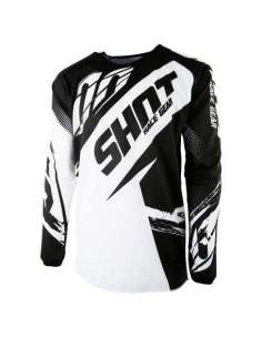 CAMISETA SHOT FAST JUNIOR NEGRO