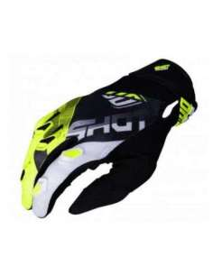 GUANTES SHOT ULTIMATE JUNIOR AMARILLO