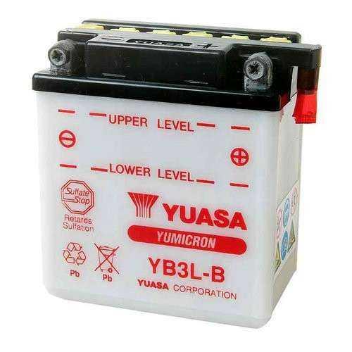 BATERIA MOTO YUASA YB3L-B