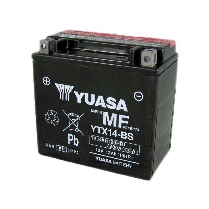 BATERIA MOTO YUASA YTX14-BS