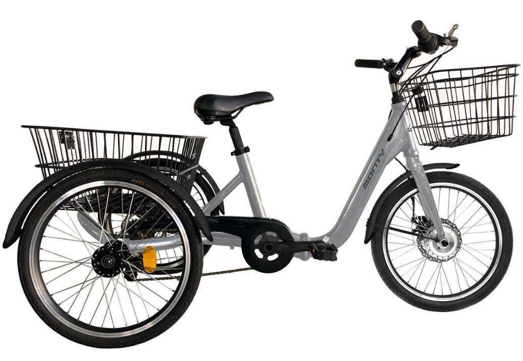 Triciclo Monty 608 Gris
