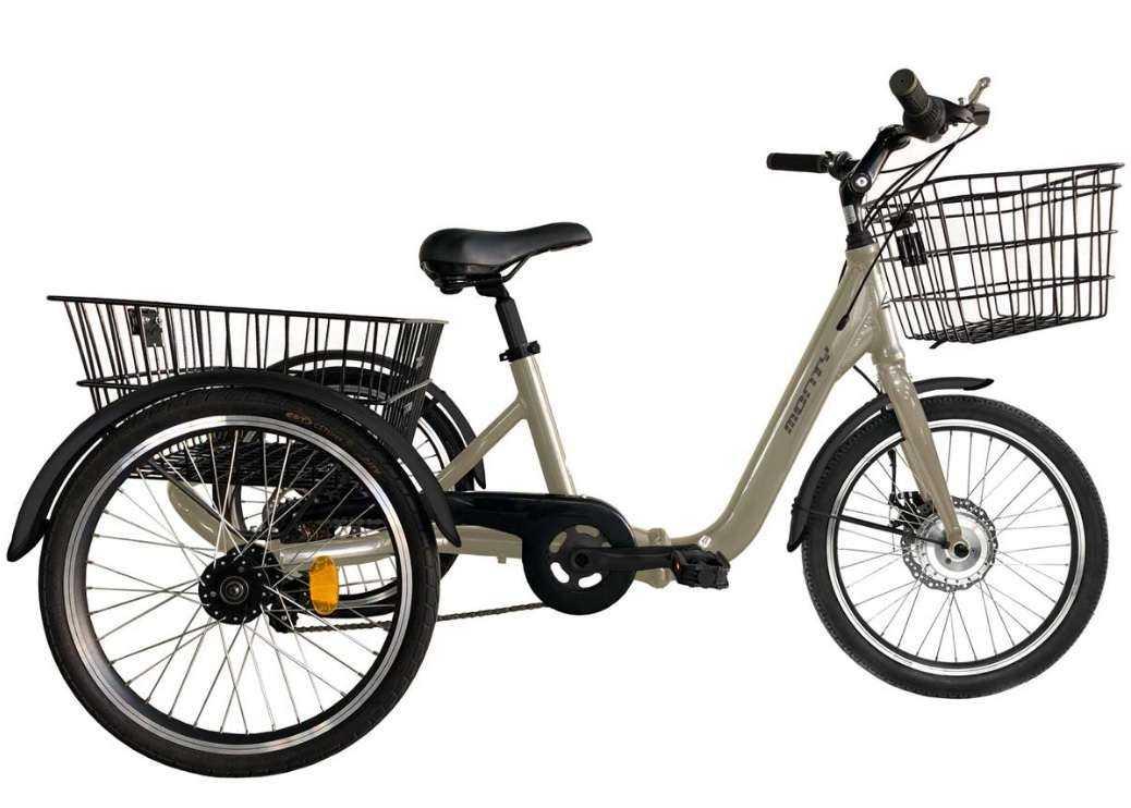 Triciclo Monty 608 Champagne Aluminio...