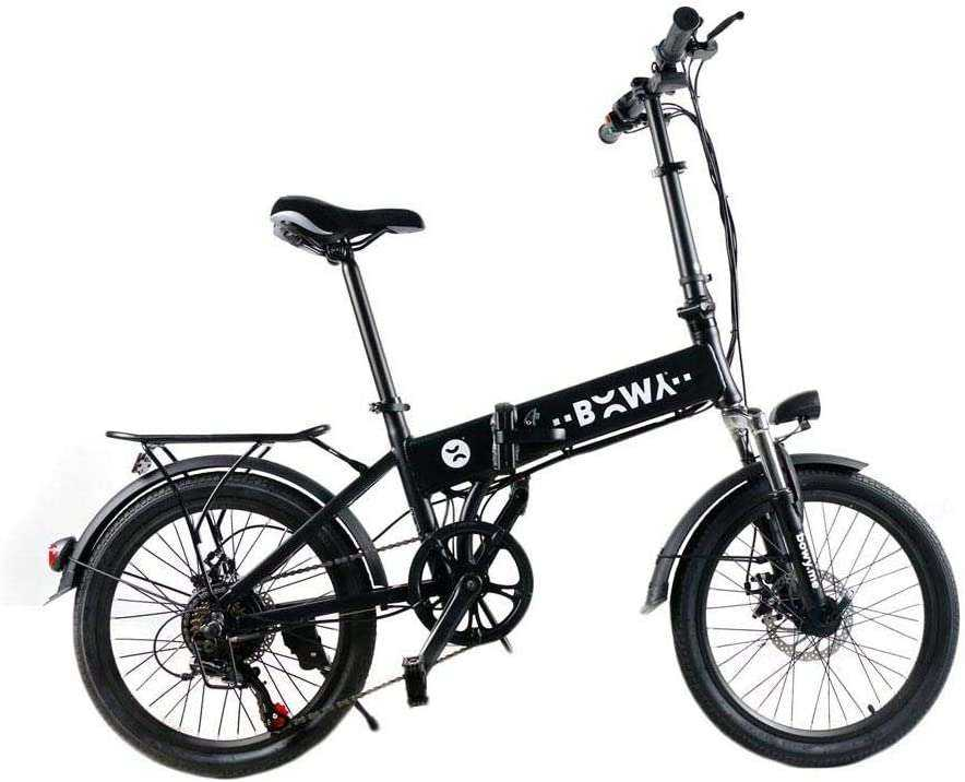 BICI ELECTRICA PLEGABLE BOWY ROAD20...