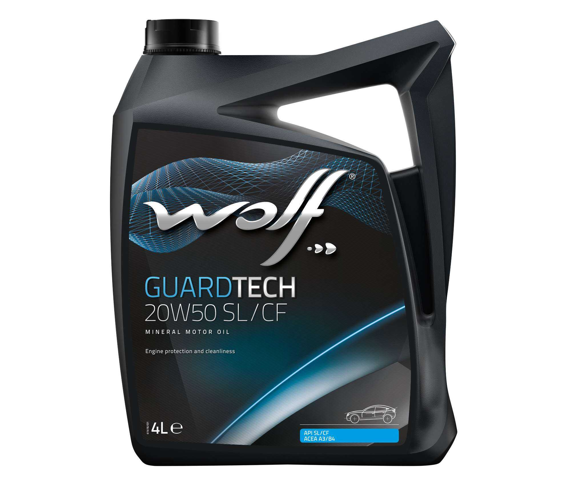 Aceite Wolf GuardTech 20w50 SL/CF...
