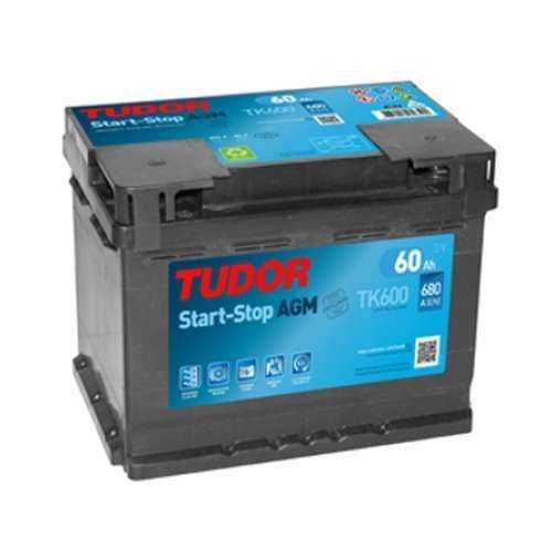 Bateria Tudor AGM 60Ah +Dcho. 680En