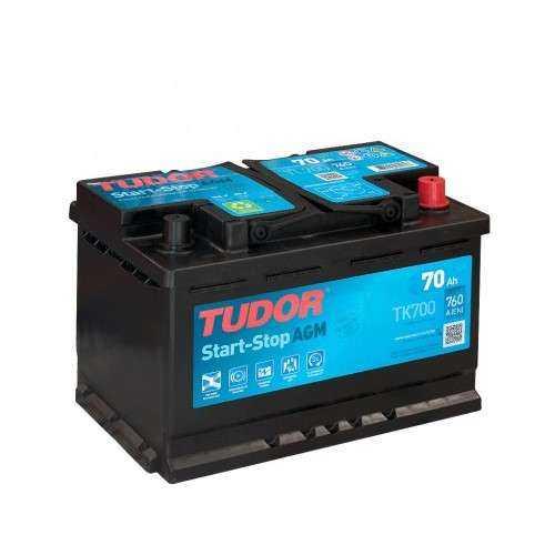 Bateria Tudor AGM 70Ah +Dcho. 460En