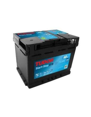 Bateria Tudor EFB 60Ah +Dcho. 640En