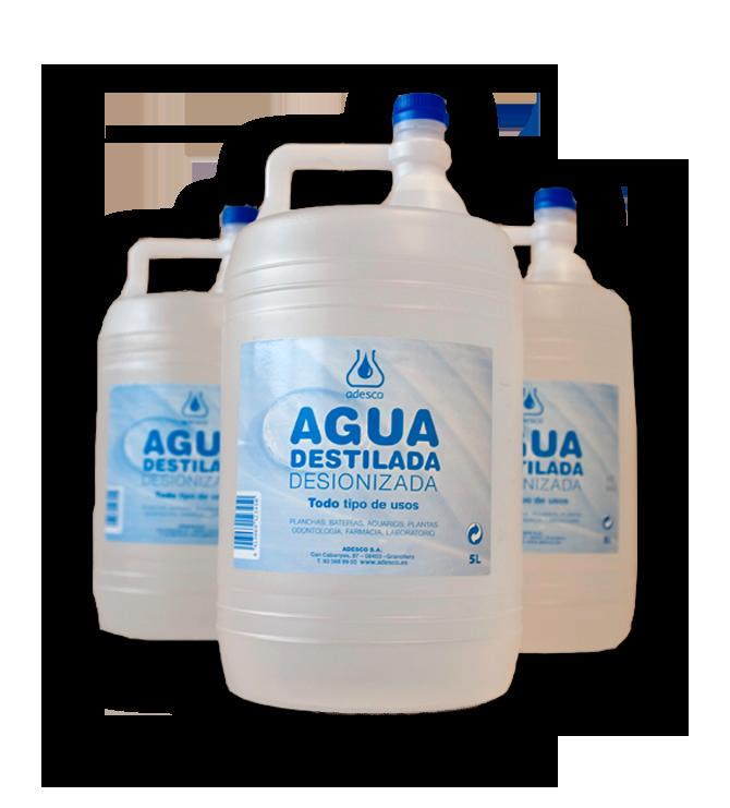 Agua destilada Navago 5Litros