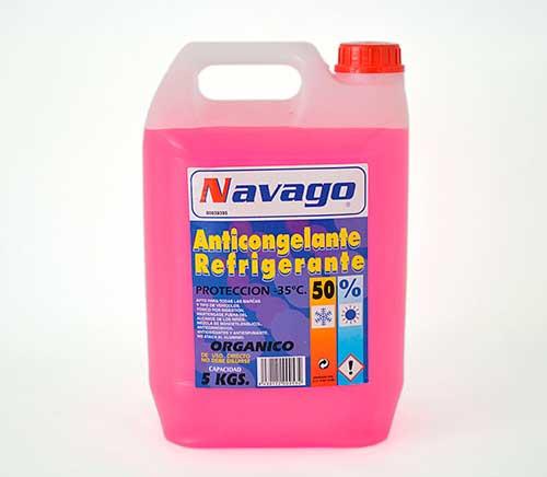Anticongelante Navago 50% rosa 5Litros