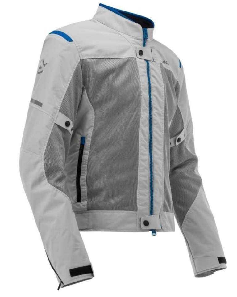 Chaqueta Moto Acerbis Ramsey 2 Gris-azul