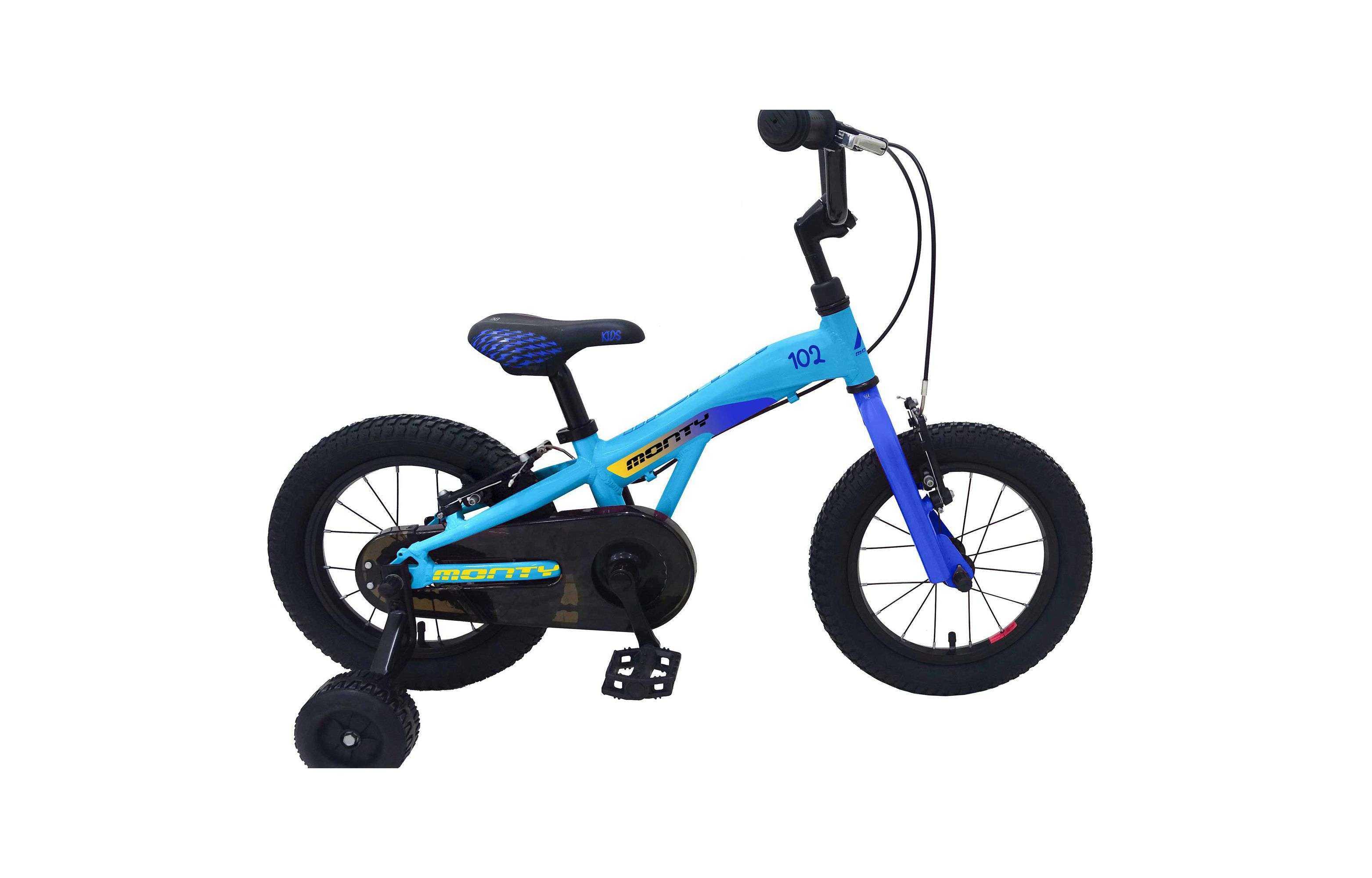 Bicicleta Infantil Monty BMX 102 Azul...