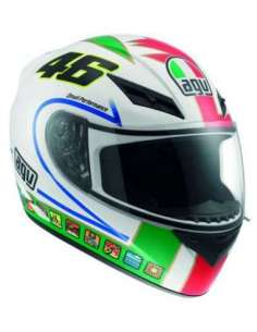 CASCO AGV K-3 VALENTINO ICON