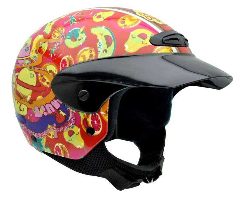 CASCO NZI CHUPA CHUPS 3D SINGLE JUNIOR MOUTH