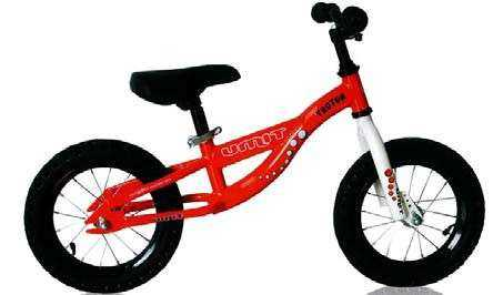 BICI UMIT G14 TROTON SIN PEDALES ROJO