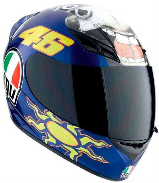 CASCO AGV K-3 THE DONKEY AZUL