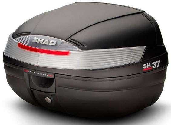 BAUL SHAD SH 37 NEGRO + REFLECTANTE