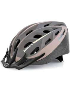 CASCO BICI BLAST CREMA/MARRON MATE