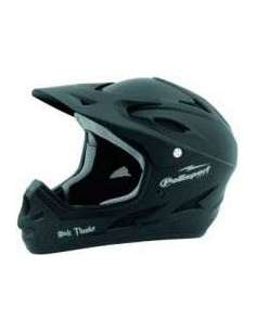 CASCO BICI DOWNHILL THUNDER NEGRO