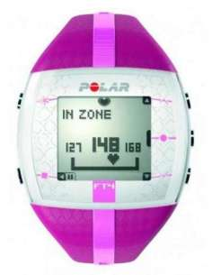 PULSOMETRO POLAR FT4F PURPURA/ROSA