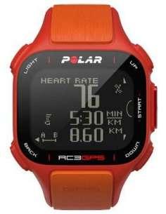 PULSOMETRO POLAR RC3 GPS ROJO