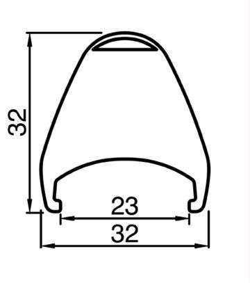RUEDA BICI BLACKJACK MTB CARBONO C29 TRASERA 29