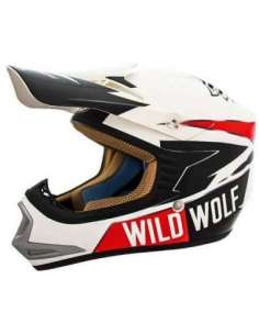CASCO SHIRO MX306 WILD WOLF JUNIOR