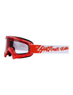 GAFAS CROSS SHOT CREED ROJO
