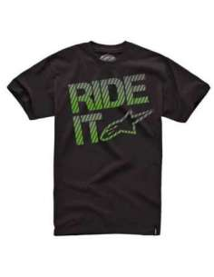 CAMISETA ALPINESTARS RIDE IT 15 NEGRO