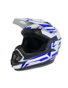 CASCO NVG MX 306 JUNIOR BRAVO AZUL