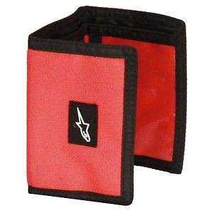 CARTERA ALPINESTARS FRICTION TRIFOLD ROJA
