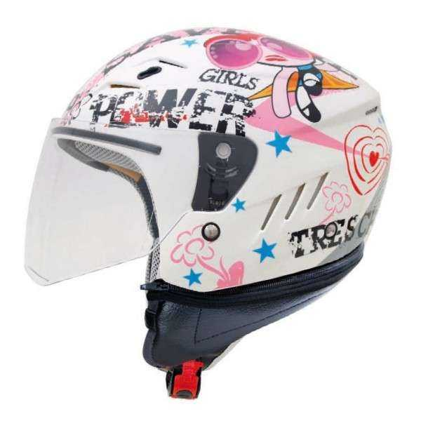 CASCO SHIRO TRES CHIC KIDS BLANCO  JUNIOR