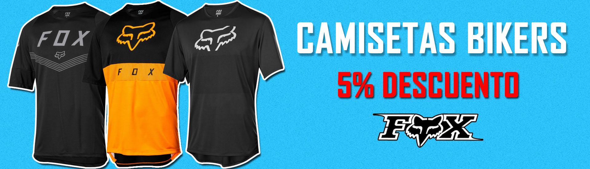 Camisetas Bikers