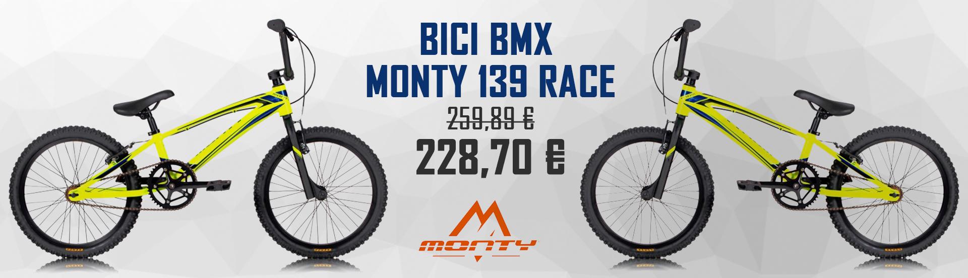 BICICLETA MONTY 139 RACE