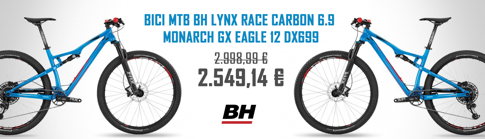 BICI MTB BH LYNX RACE CARBON 6.9 MONARCH GX EAGLE 12