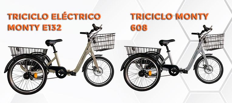 Triciclos Eléctricos Monty